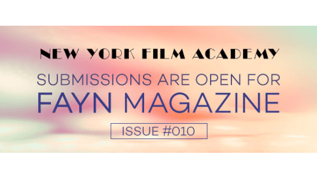 Submissions Now Open for FAYN Magazine Issue #010