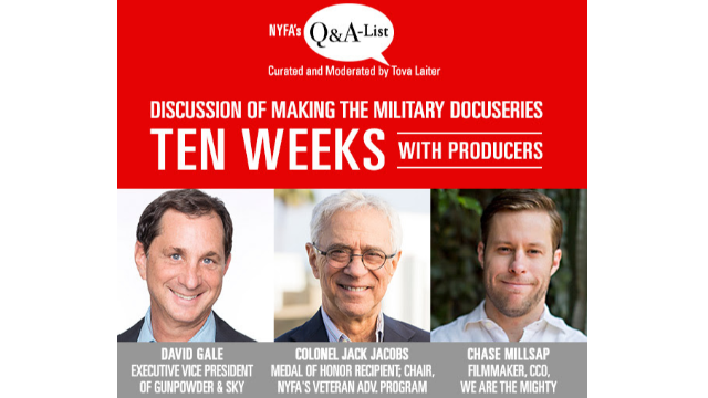 "Live Q&A With Producers of Docuseries ""Ten Weeks"""