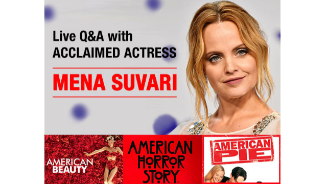 Live Q&A with 'American Beauty' Actress Mena Suvari
