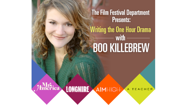 Writing the One Hour Drama: An Online Conversation With Television Writer Boo Killebrew