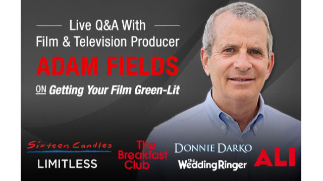 Live Q&A with Producer Adam Fields - Register Now