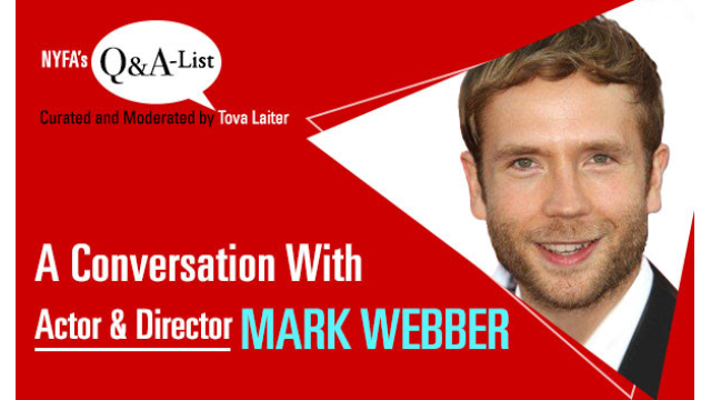 Live Q&A with Actor & Director Mark Webber on His New Film THE PLACE OF NO WORDS